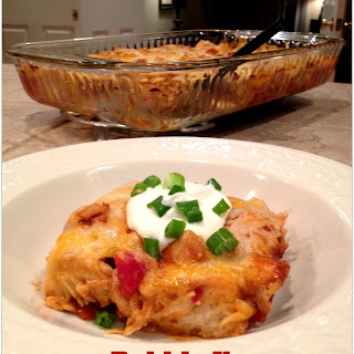 Bubble Up Mexican Casserole
