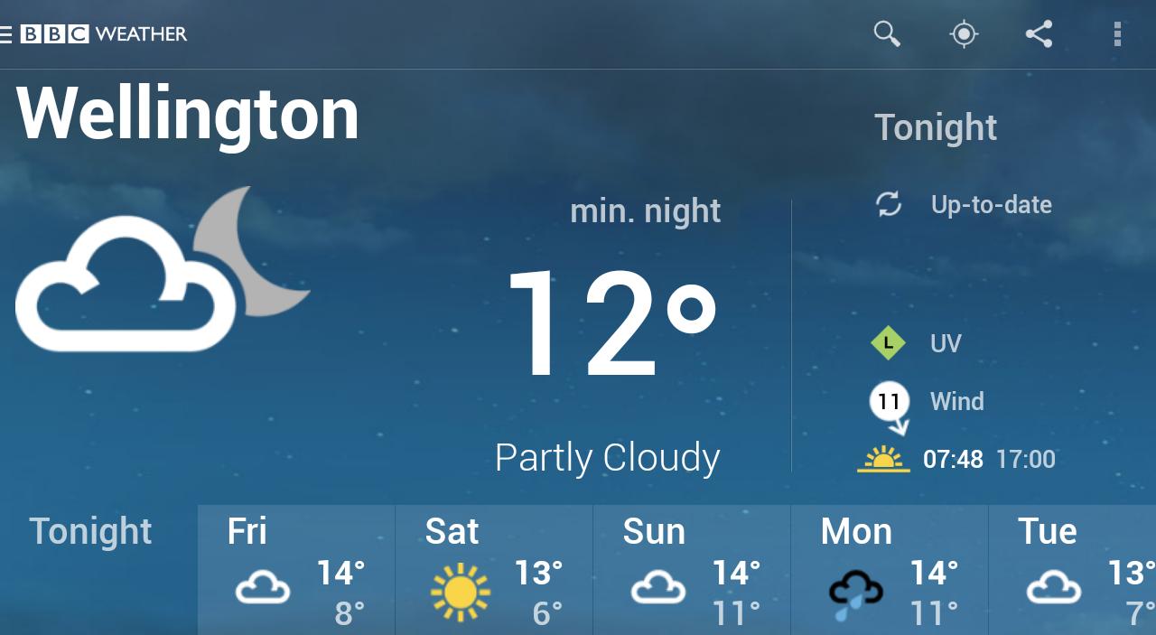 BBC Weather screenshot #14