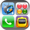 Four Apps Icon logo