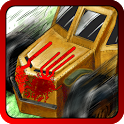 Zombie Rider: Run Smashing Car icon
