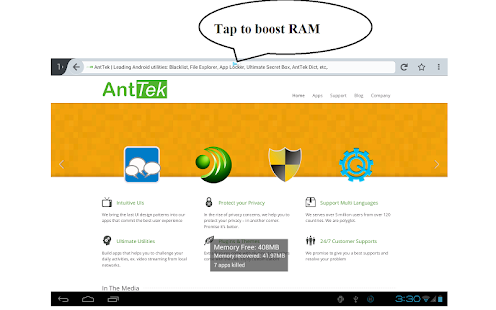 Smart RAM Booster - screenshot thumbnail