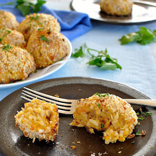 Baked Arancini Balls Recipe