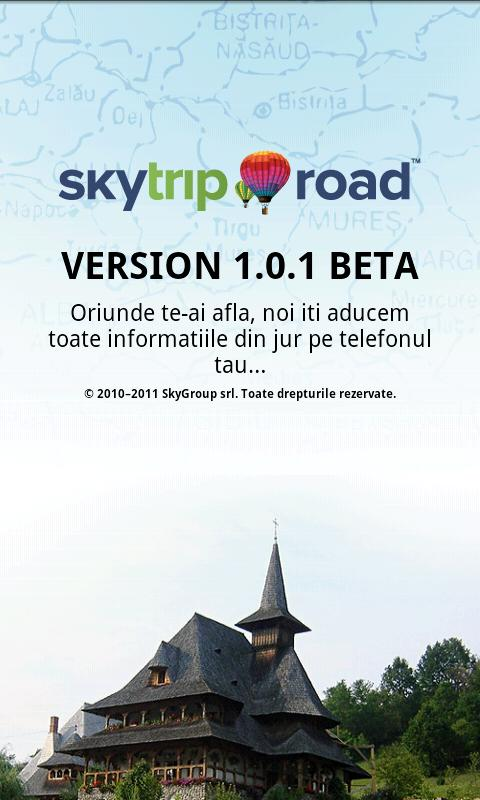 SkyTrip Road - screenshot