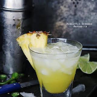Pineapple Serrano Margarita.