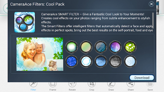 CameraAce Filter:Cool Pack- screenshot thumbnail