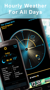 Weather Rise Clock 30+ Widgets screenshot 4