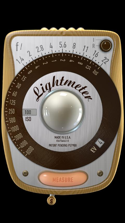 LightMeter Free – Screenshot