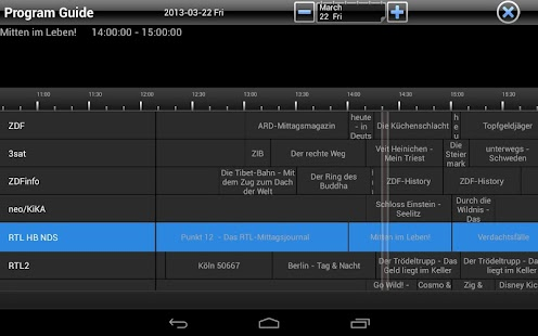 TVCenter per Android- miniatura screenshot