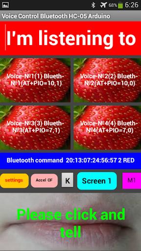 Voice Control Bluetooth HC-05