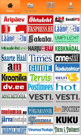 Estonia Newspapers: uudised