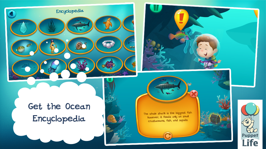 Explorium: Ocean for Kids Free- screenshot