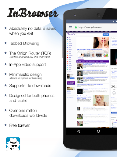 InBrowser - Incognito Browsing 2.42.1 app download 1