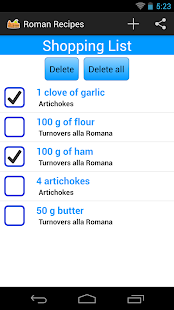 Roman Recipes FREE- screenshot thumbnail