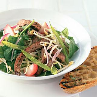 Summer Beef Salad with Cilantro.