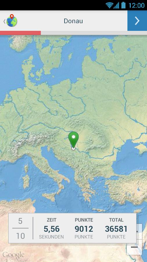 Geographie Quiz Hauptstädte