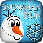 Snowman Frozen Run