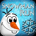 Snowman Frozen Run