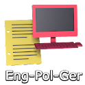 Eng-Pol-Ger Offline Translator icon