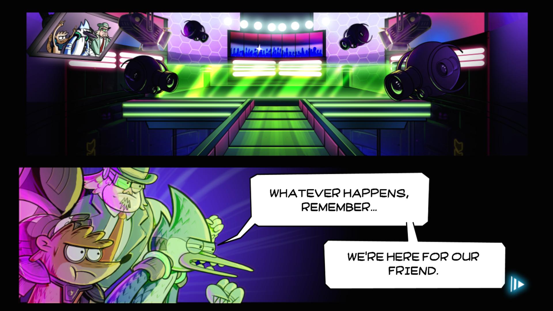 Grudgeball - Regular Show screenshot #2