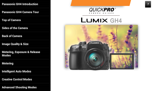 Guide to Panasonic Lumix GH4