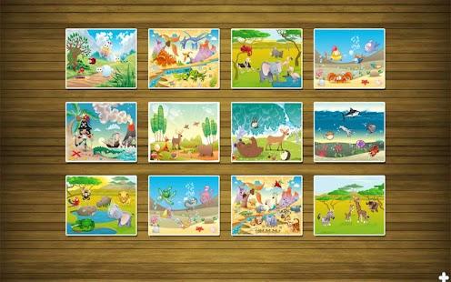 Puzzle zábava pro děti 2 - náhled