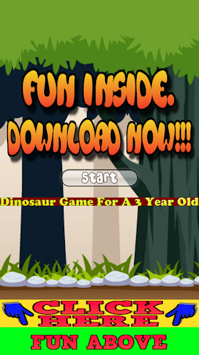 Dinosaur Game For A 3 Year Old