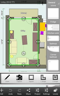 Floor plan creator android apps on google play for Floorplanner software