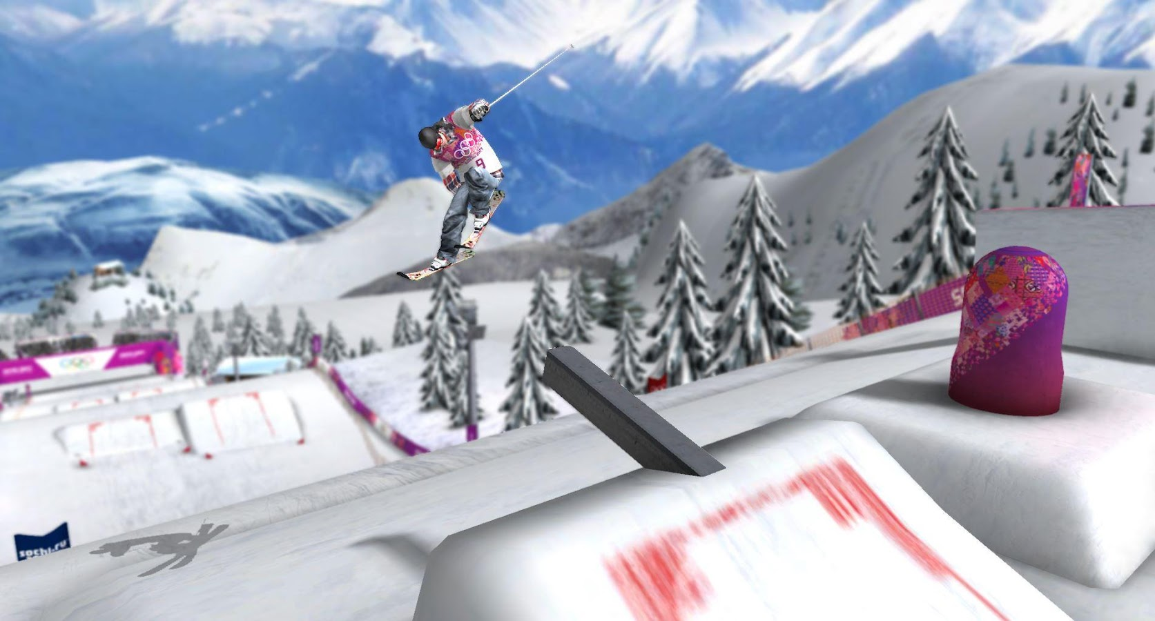 Sochi 2014: Ski Slopestyle - screenshot