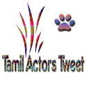 Tamil Actors Tweet logo