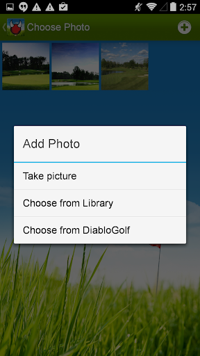Diablo Golf Handicap Tracker app (apk) free download for Android/PC/Windows screenshot