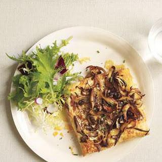 Flaky Mushroom and Gruyere Tarts.