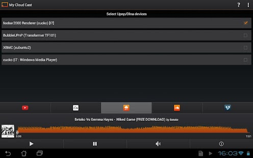 My Cloud Cast Upnp/Dlna client- screenshot thumbnail