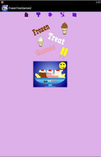 Frozen Treat Games 2