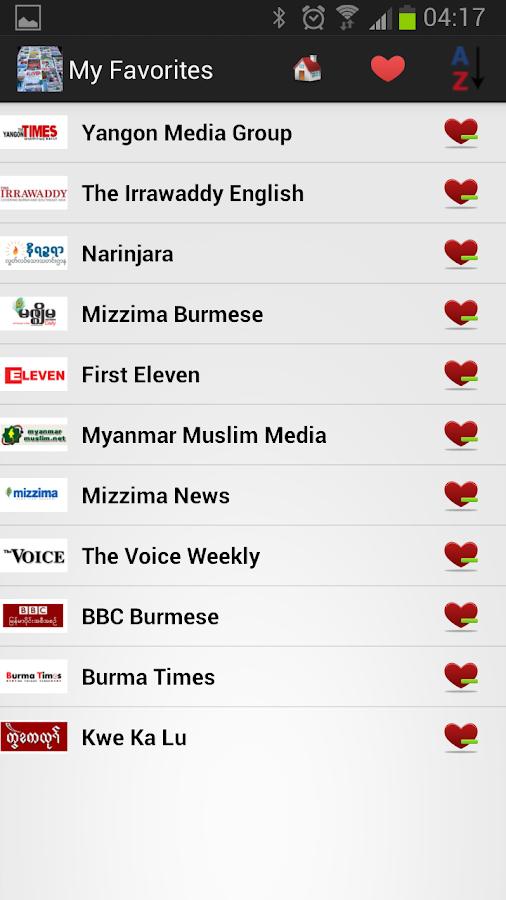 Myanmar Newspapers And News - screenshot