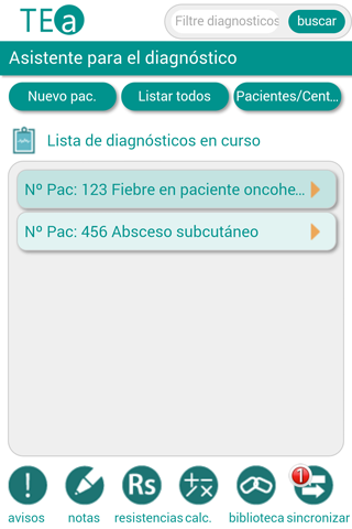 Tto. Empírico Antimicrobiano- screenshot