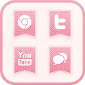 PINK FABRIC icon theme icon
