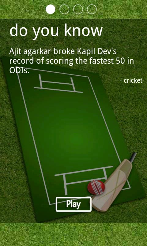 Cricket Quiz - screenshot