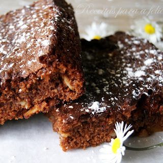 Chocolate and Almond Brownies.