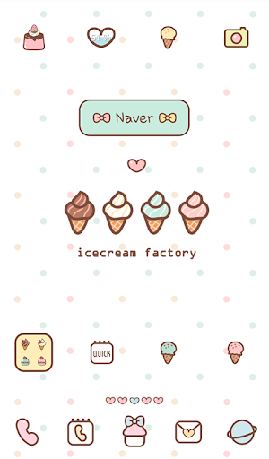 icecream factory dodol theme