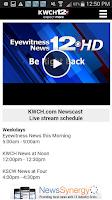 Screenshot of KWCH 12