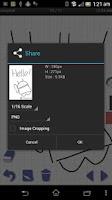 Screenshot of simpleaf free (handwriting)