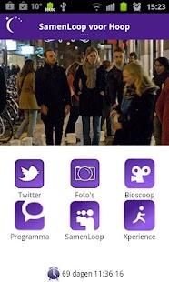 SamenLoop voor Hoop - screenshot thumbnail
