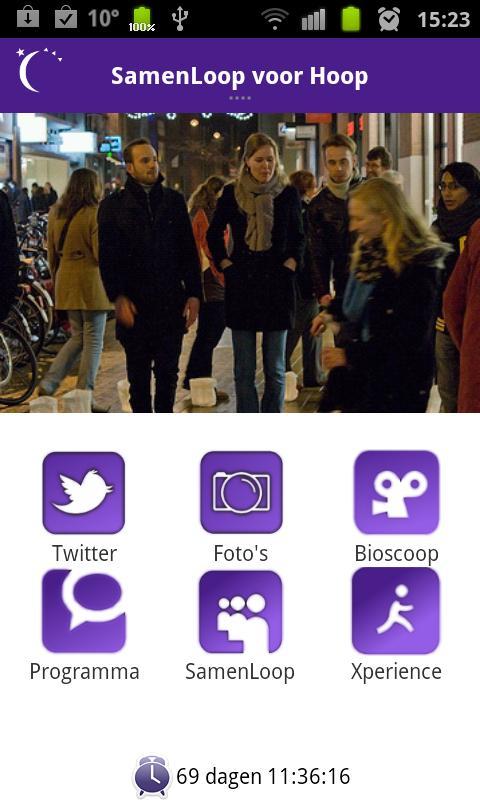 SamenLoop voor Hoop- screenshot