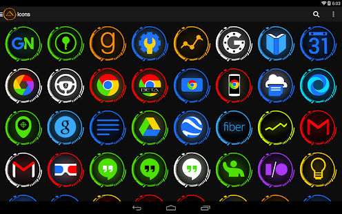 Aeon Icon Pack - screenshot thumbnail