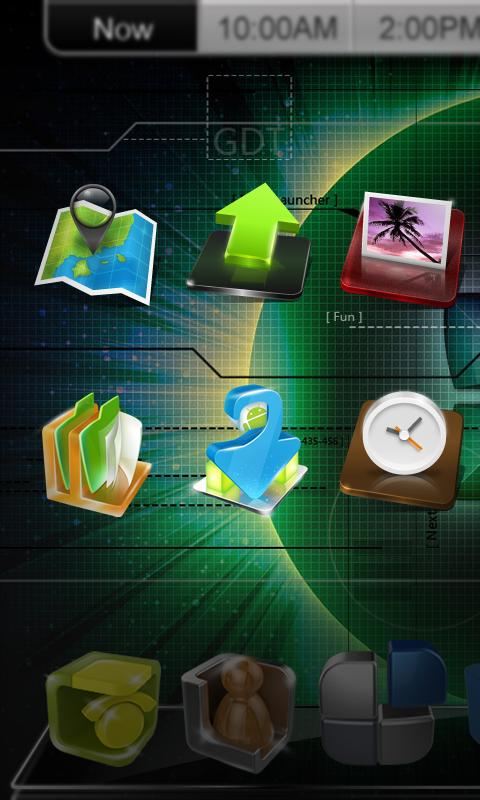 Download Next Launcher 3D v2.0 Tema Premium Android