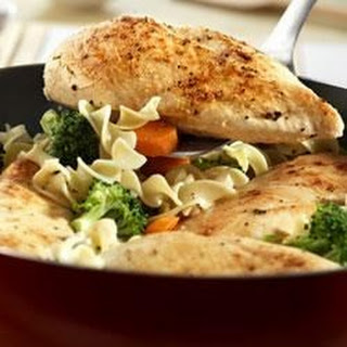 Quick Chicken and Noodles.