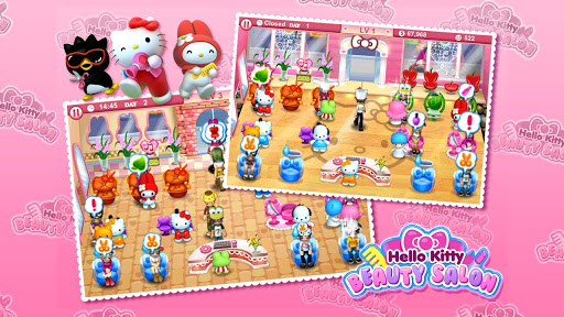 Hello Kitty Beauty Salon  screenshots 3
