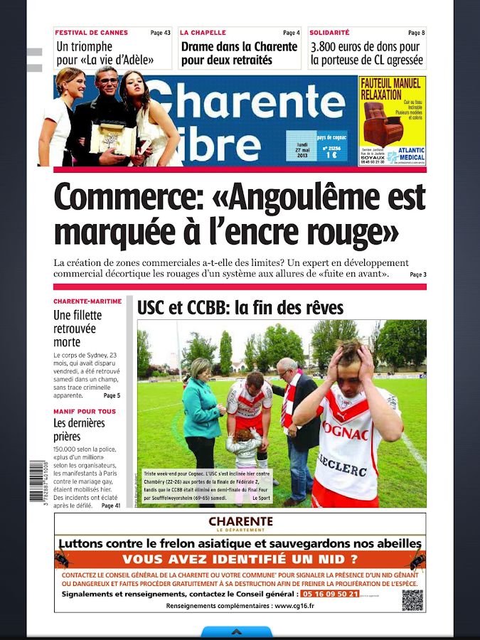 Le Journal - Charente Libre - screenshot