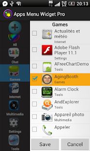Apps Menu Widget Free- screenshot thumbnail