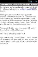 Screenshot of JB Workaround Cloud Calendar